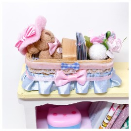 Doll Week End Basket