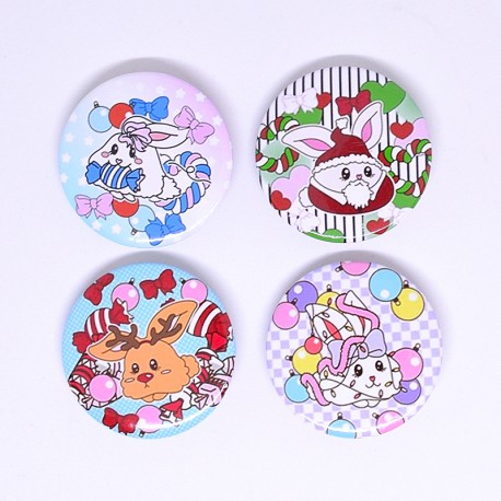 SET Pin Badge Xmas Bh035