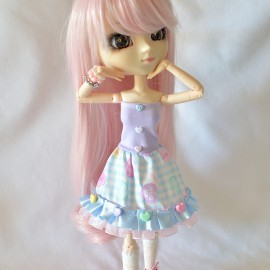 Pullip Bustier Dress DOLR017
