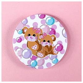 BIG PIN Badge Teddies Bh041