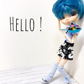 Pullip Outfit Hello DOL257